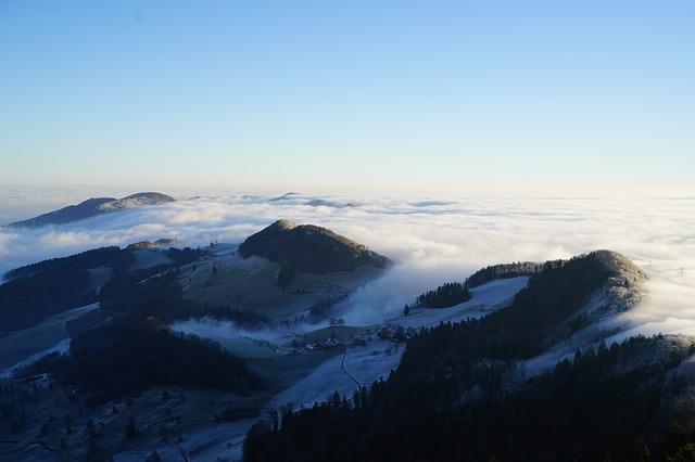 Belchen skigebied zwarte woud